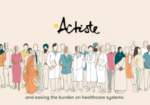 180s Hand-drawn animated explainer video for Actiste by Pat Animation