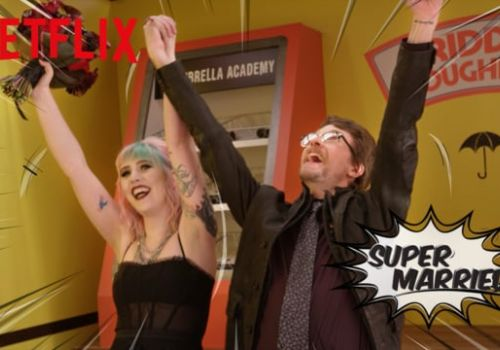 Netflix Umbrella Academy Wedding