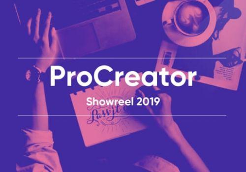 ProCreator - UX Design Studio   Showreel 2019