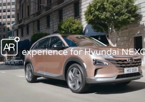 AR experience for Hyundai Nexo