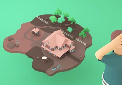 MegaGrass - Measure Your Lawn - 3D Explainer Video