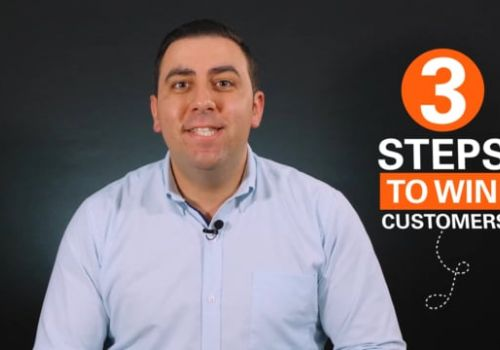 3 steps to win new customers