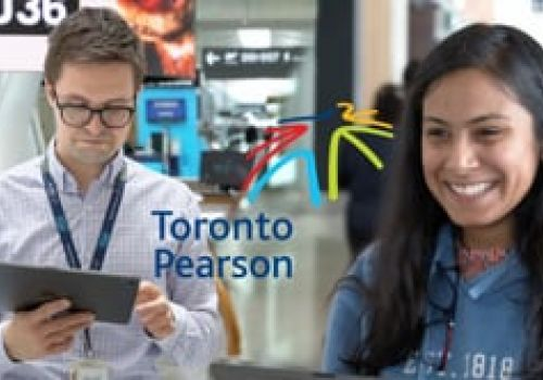 """Toronto Pearson Airport / """"New Website Launch"""""""
