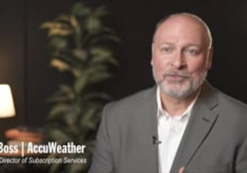 Case Study with AccuWeather's Senior Director Bill Boss
