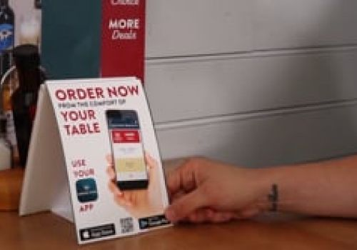 Hungry Horse, Order & Pay App Promo
