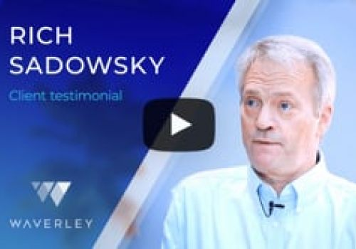 Rich Sadowsky about the Partnership with Waverley Software