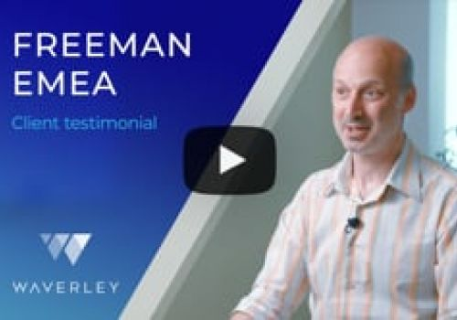 Freeman EMEA about the Partnership with Waverley Software
