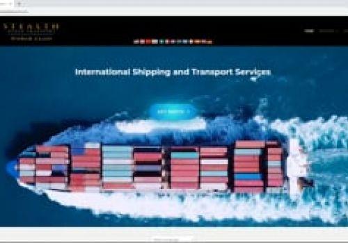 Stealth Ocean Transport Website