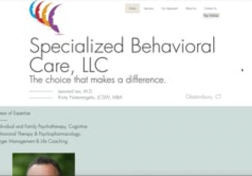 Specialized Behavioral Care LLC Web Design