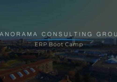 Panorama ERP Boot Camp