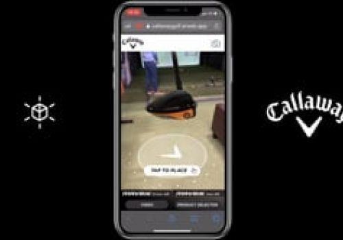 Callaway Golf AR - Web AR Promotion In-Store