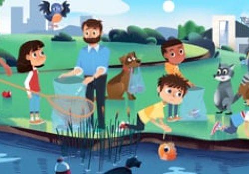 PVSC - Anti-Littering Children's Video