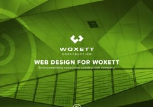 Woxett Construction Company Website Design