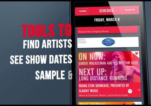 ECMA - Music Festival App Case Study