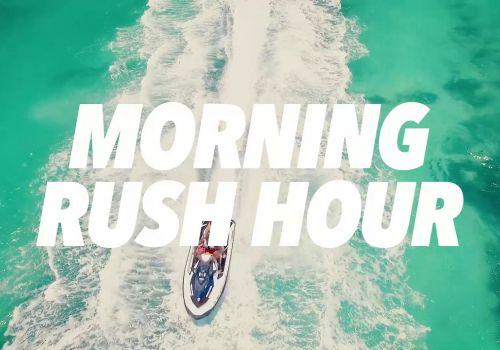 Morning Rush Hour In Key West, FL Via Jet Ski