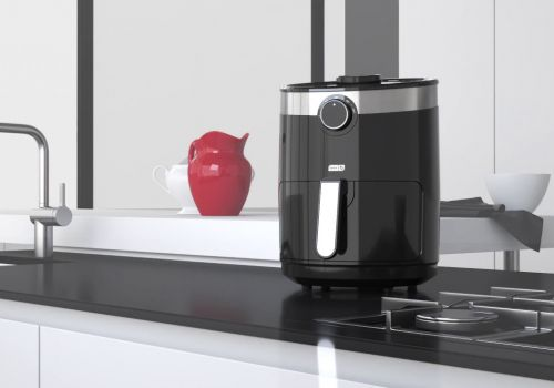 Air Fryer 3D Animation
