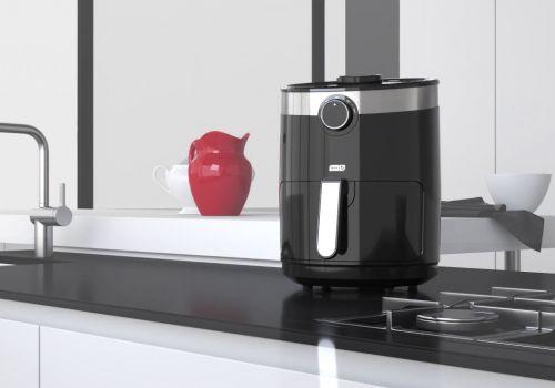 Air Fryer 3D Animation