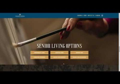 Grand Living Web Design Collaboration