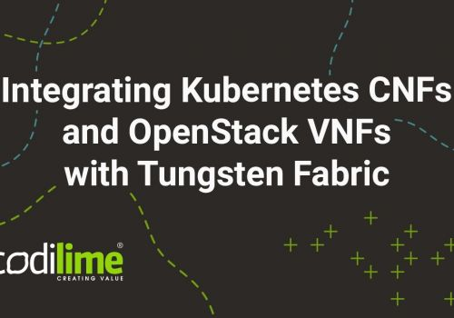 Integrating Kubernetes CNFs and OpenStack VNFs with Tungsten Fabric