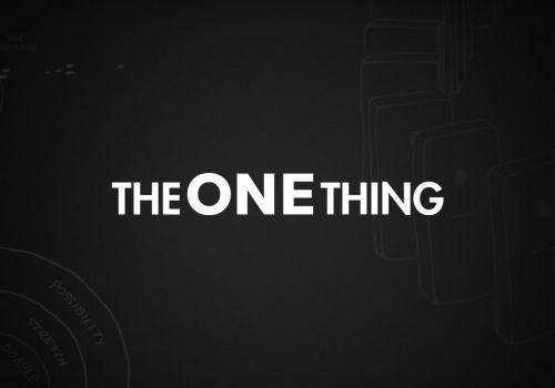 The One Thing eCommerce Website Redesign