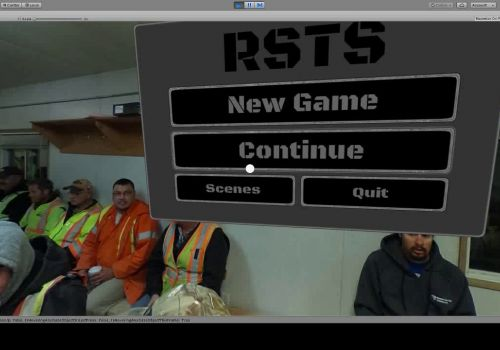 RSTS New men, audio, and off screen indicator