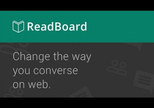 ReadBoard.io - Change the way you converse on the Web