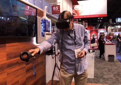 Rinnai® Sensei™ Tankless Water Heater In Virtual Reality