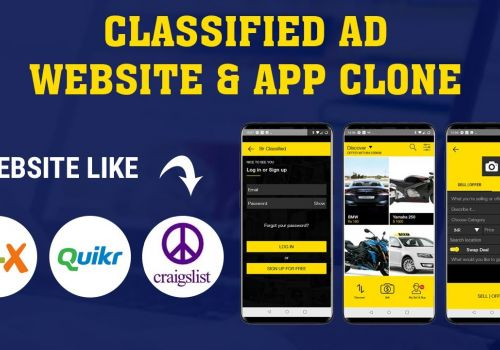 Build your Own Classified website & app like Quikr, Olx for Android and iOS
