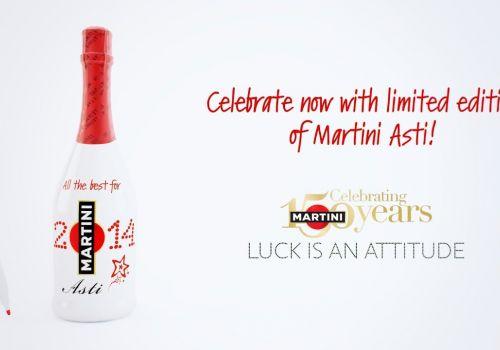 MARTINI Asti Custom Bottle Xmas Campaign | 3D animation by Craftoon