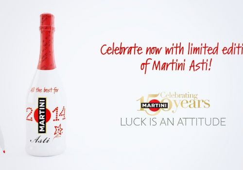 MARTINI Asti Custom Bottle Xmas Campaign | 3D animation by Craftoon