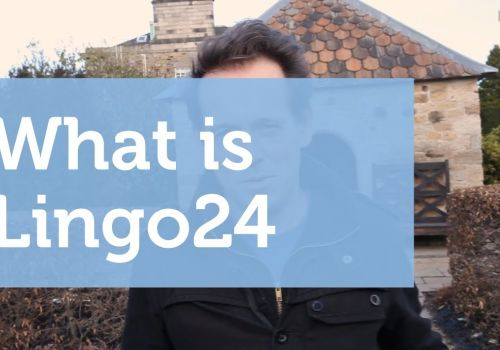 What is Lingo24