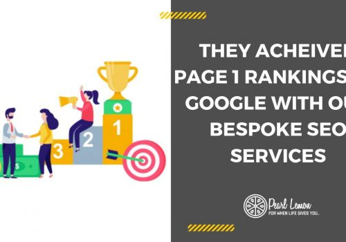 Big Value Banners #1 Google Ranking | Pearl Lemon SEO Case Study