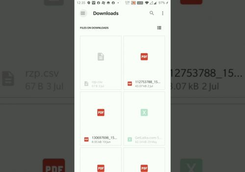 How to split PDF using Cam and Doc Scanner App