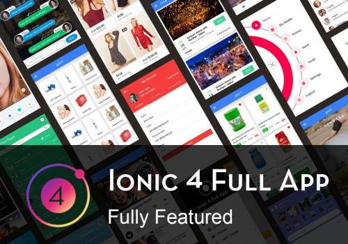 Ionic 4 full app - All features - Enappd