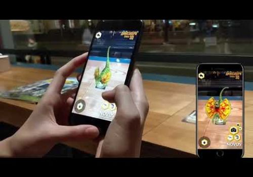 AR Mobile Application for NOVUS ( НОВУС Динозавры 3Д)
