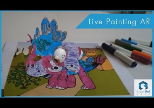 Live Painting Augmented Reality App