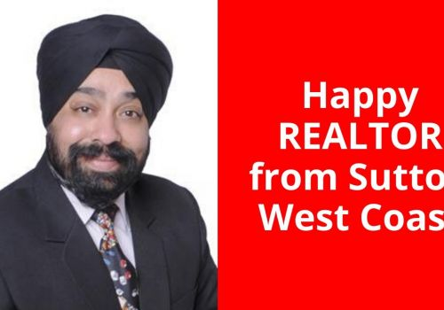Happy Client Testimonial - Realtor with Sutton West Coast in Surrey, Canada