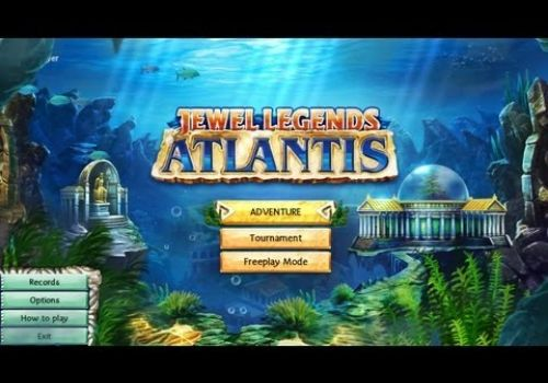 Jewel Legends: Atlantis Gameplay & Free Download   HD
