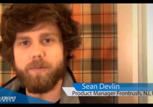 Sean Devlin, Co-Founder & Product Manager, Front Rush. Testimonial for Net Solutions.
