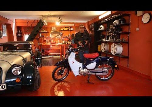Honda Super Cub Saffet'in Garajı'nda!
