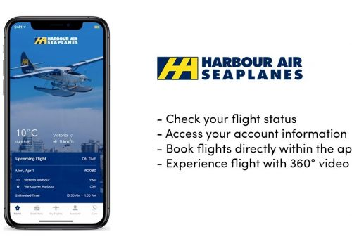 Harbour Air Mobile App Demo Video