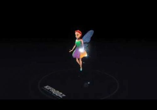 Kifreez - Fairy 3D Model