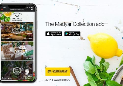 The Madyar Collection app