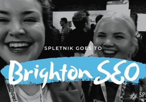 Vlog: BrightonSEO 2019 with Spletnik