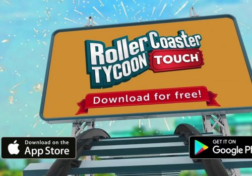 RollerCoaster Tycoon Touch Mobile Ad Iterations