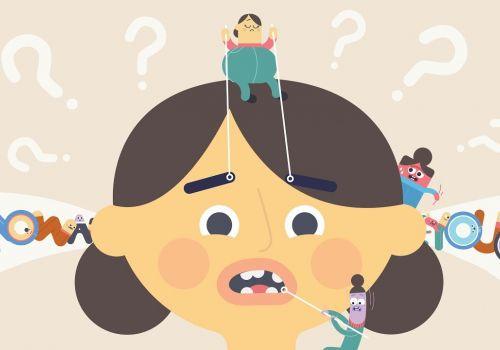 Stuttering - 2D animated explainer video