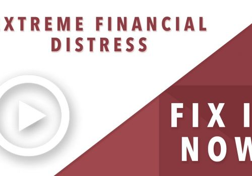 2020 Business Turnaround Services solution for Extreme Financial Distress