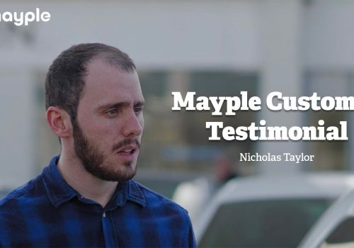 Mayple Customer Testimonial - Nicholas Taylor, marketing and sales manager, automotive industry