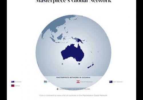 Masterpiece International Interactive Globe