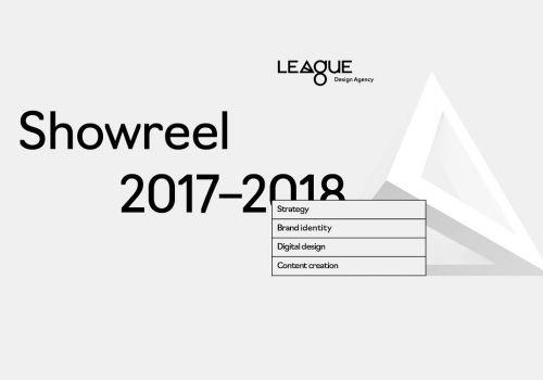 Showreel 2017–2018 League Design Agency